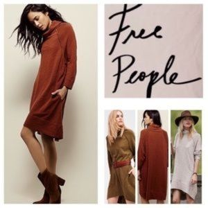 NWT | Free People Beach Terris Cowl Neck Dress